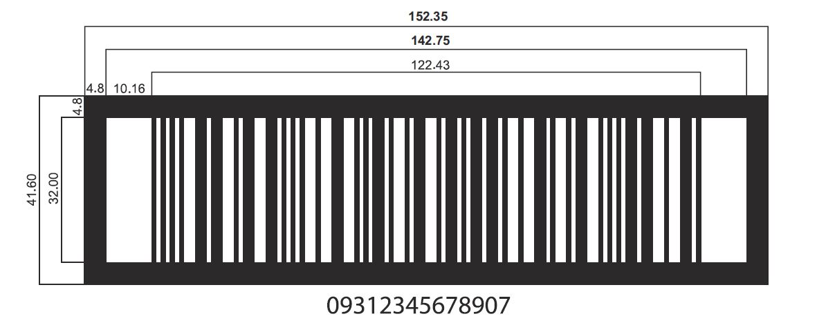 ITF-14 Barcode Dimensions | International Barcodes